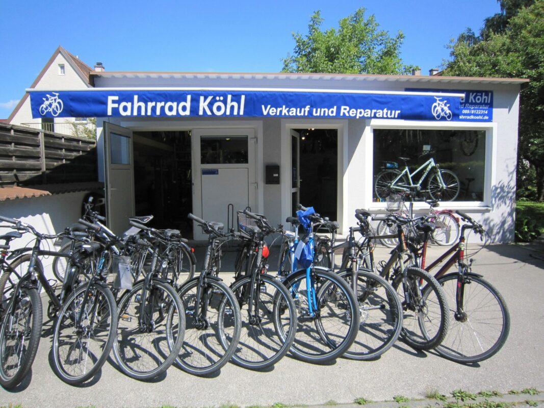 Fahrrad Köhl Ladengeschäft